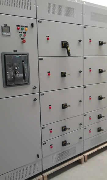 Painel de Eletricidade Flex Process